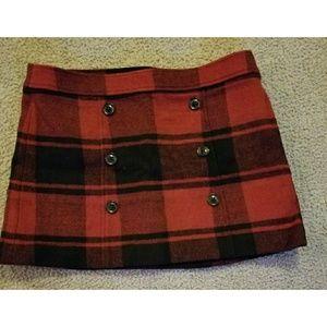 Gap wool skirt